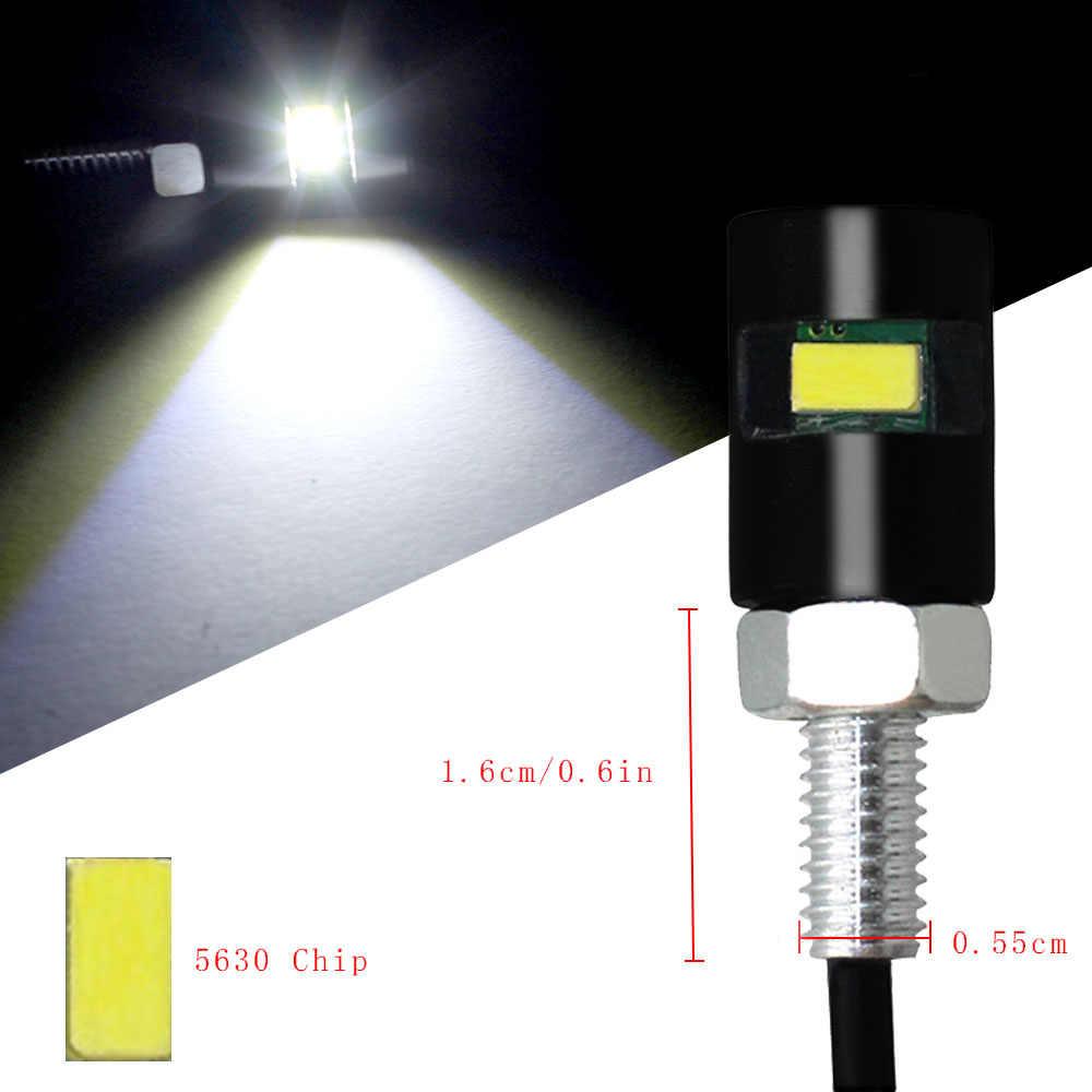 2 Stuks Auto Motor Nummer Kentekenplaat Verlichting 12V Led 5630 Smd Auto Staart Voorste Schroef Bolt Lampen Lampen lichtbron