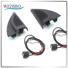 For 2017 Hyundai Solaris Verna New Genuine Triangle Head Tweeter Speakers Car Audio Trumpet With Wire WZZBBO10
