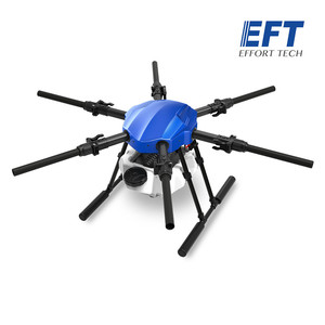 Image 2 - EFT new upgrade E610S 10L 10kg  agricultural spray drone frame six axis waterproof folding drone frame with X6 power system UAV