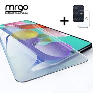 Image 1 - Vetro temperato per Samsung A51 A50 A70 Protezione Dello Schermo di Vetro A51 Obiettivo di Vetro per Samsung Galaxy A50 A51 A10 A01 a30 A40 A20 A71
