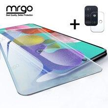 Vidrio templado para Samsung A51, A50, A70, Protector de pantalla de cristal A51, lente de cristal para Samsung Galaxy A50, A51, A10, A01, A30, A40, A20, A71
