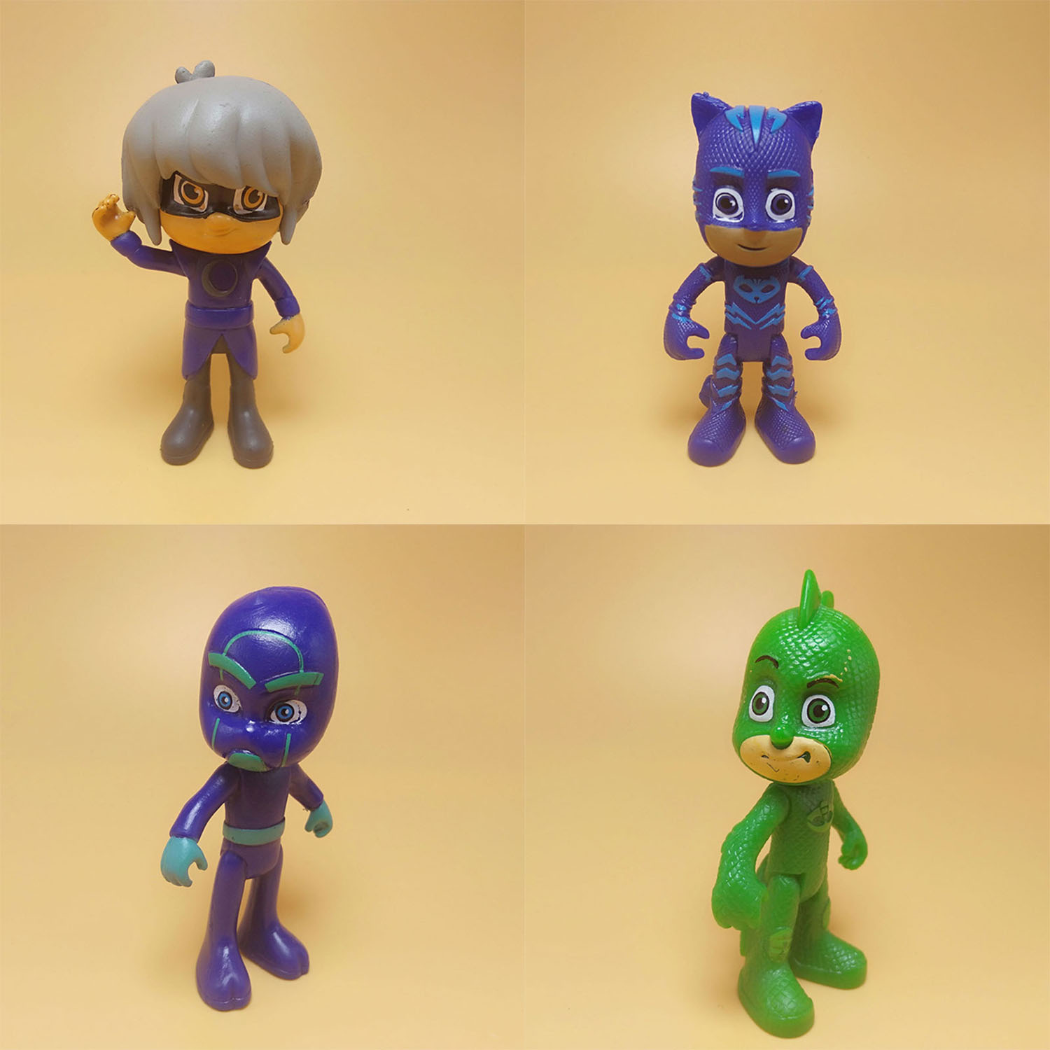 Cartoon Mv Pj Mask Character Figures Catboy Owlette GekkoAnime Toys Birthday Gift Toys For Children Kids