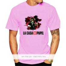 La Casa De Papel hommes t-shirts argent casse Tv homme à manches courtes t-shirts pour garçons maison De papier T-Shirt hommes t-shirts T-Shirt