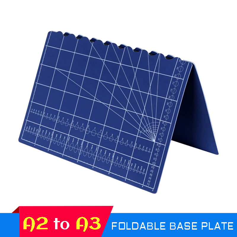 A2 To A3 Foldable Cutting Pad Plate Automatic Healing Manual Pvc Patchwork Cutting Plate Self-healing Model Pad Manual Pad