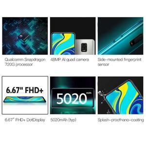 Image 2 - متوفر شاومي ريدمي نوت 9 S 4GB 64GB النسخة العالمية الهاتف الذكي سنابدراجون 720G ثماني النواة 5020 mAh 48MP كاميرا رباعية نوت 9 S