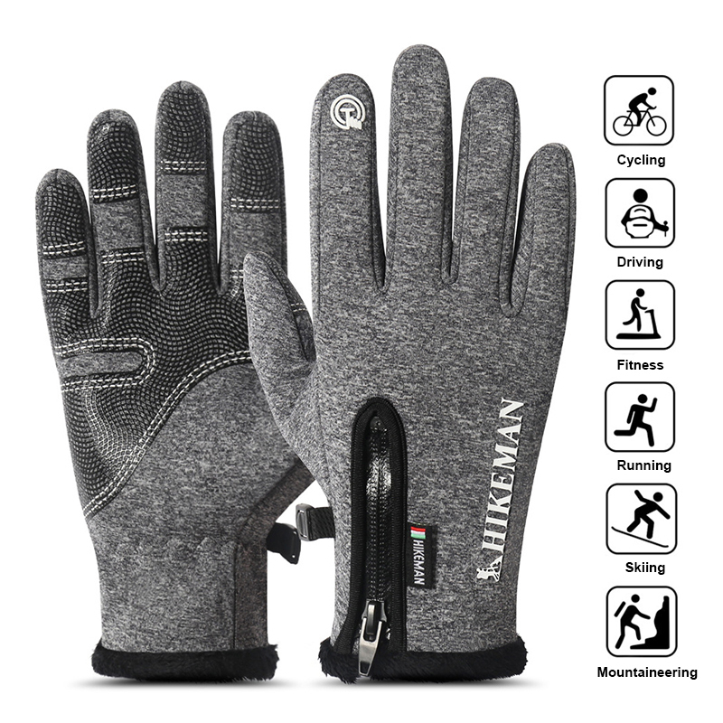 SFIT Ski Gloves Heated Men Women Child Touch Screen Snowboard Sport Gloves Outdoor Windproof Snow Skiing Motorcycle Gloves