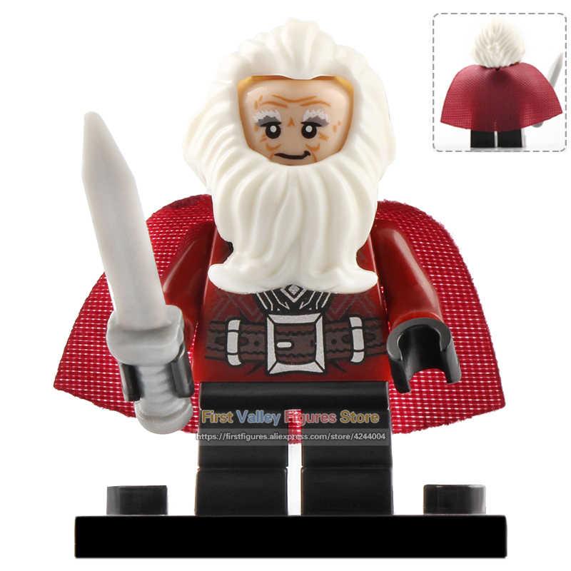 Señor de los anillos bloques de construcción Uruk-hai Bilbo Frodo Orcs figura de acción juguetes de regalo para niños WM299