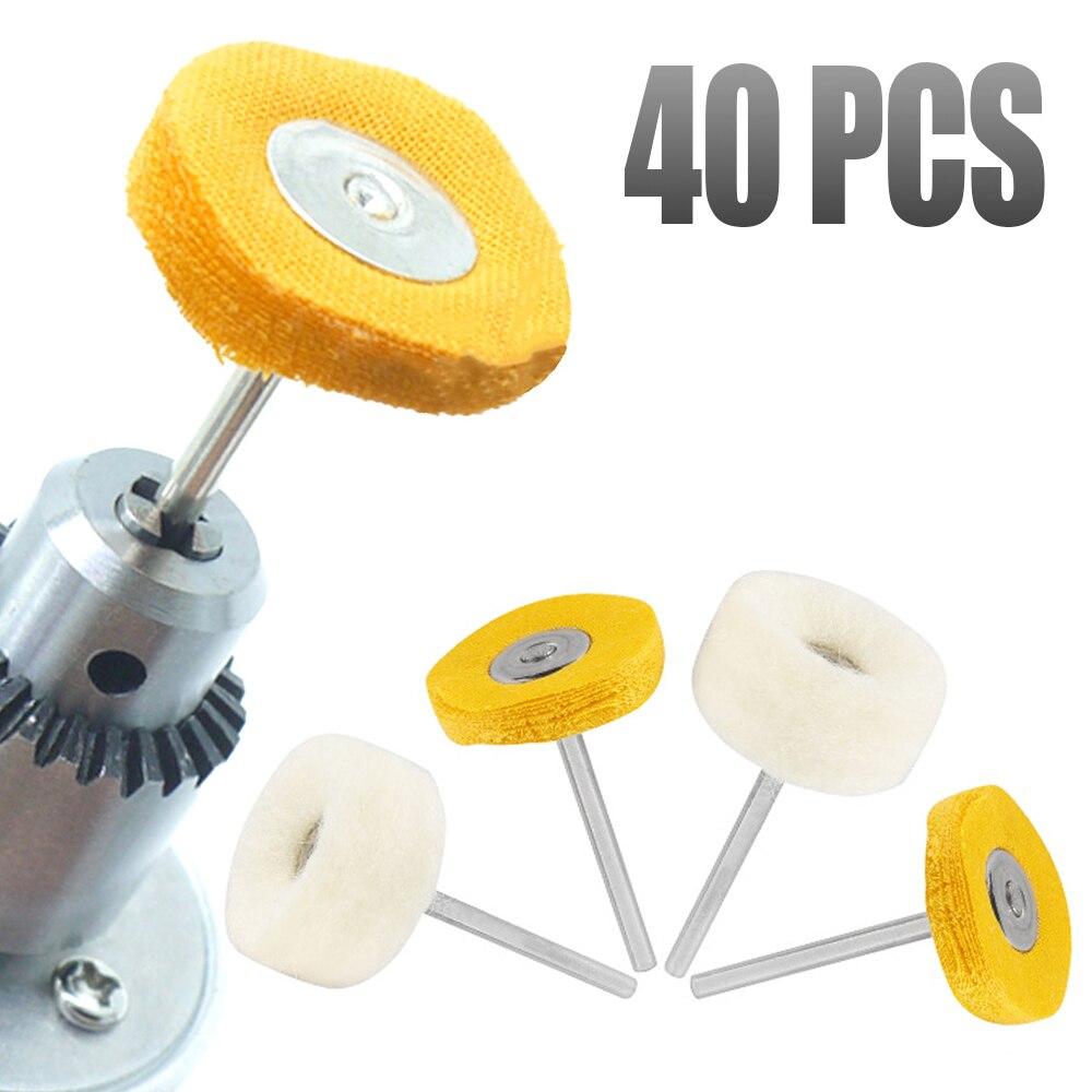 70mm x 25mm x 6mm Shank Mounted Flap Wheel Buffing Polishing Wheel