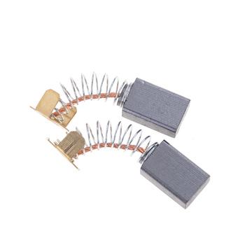 2 sztuk 15X10X6mm Mini wiertarka części zamienne do szlifierki elektrycznej części zamienne do szczotek węglowych do silniki elektryczne narzędzia obrotowe tanie i dobre opinie CN (pochodzenie) Carbon Brushes