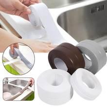 3.2M x 3.8CM zlewozmywak wodoodporna naklejka antypoślizgowa wodoodporna taśma blat łazienkowy toaleta Gap samoprzylepne szwy naklejki