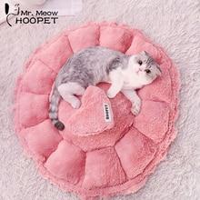 Hoopet домик для питомца кошки Милый розовый мягкий гнездо для щенка питомник диван для собаки домик для кошки спальный мешок кровать товары для домашних животных