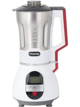 H. Koenig MXC36 Soup Maker / Blender, Ice Crusher, Chef and Mix 1.7 Liter Stainless Steel Case, 900 W недорого