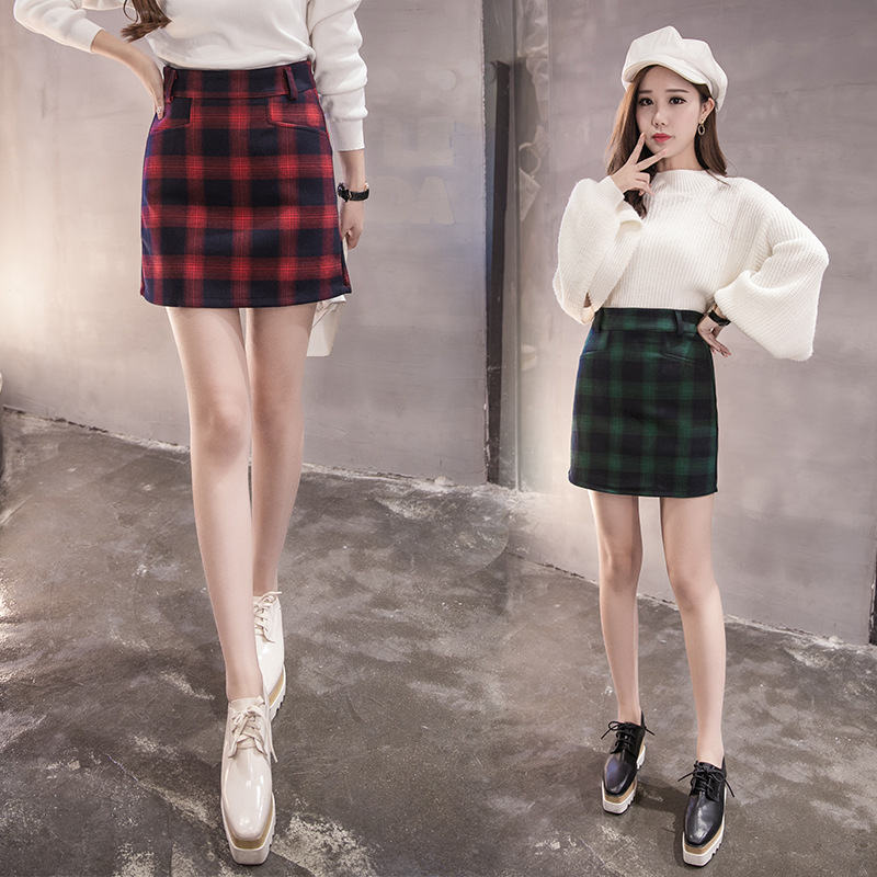 [Photo Shoot] #2201 #2019 Autumn And Winter Europe And America Big Brand Skirt Large Size Sheath One-step Skirt Wear