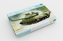 цена на Trumpeter 1/35 05522 T-64BV Mod.1985 MBT Main Battle Tank Military Display Toy Plastic Assembly Building Model Kit