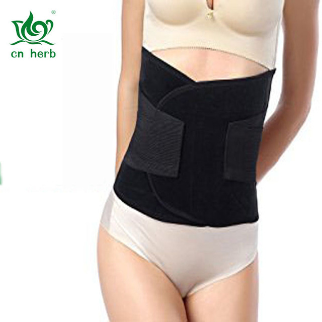Cn Herb Waist Trimmer  Recoery Support Girdle Belt Post Pregnancy After Birth Special Belly,tummy Fat Burning