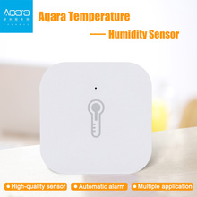 New Original Aqara Temperature Humidity Sensor Smart Home Device Air Pressure Work with Android IOS APP Fast Ship