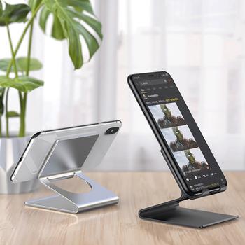 2020 uchwyt na Tablet biurkowy stół komórkowy składany przedłużenie biurko uchwyt na telefon komórkowy stojak na iPhone iPad regulowany stojak tanie i dobre opinie HAIMAITONG Brak funkcji CN (pochodzenie) Uniwersalny Uchwyt na biurko Aluminum Alloy Phone Holder dropshipping
