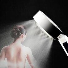 Регулируемая насадка для душа ручной душ 3-ступенчатый магии»; Косплей Давление Насадки для душа экономии воды спа душевая лейка головки