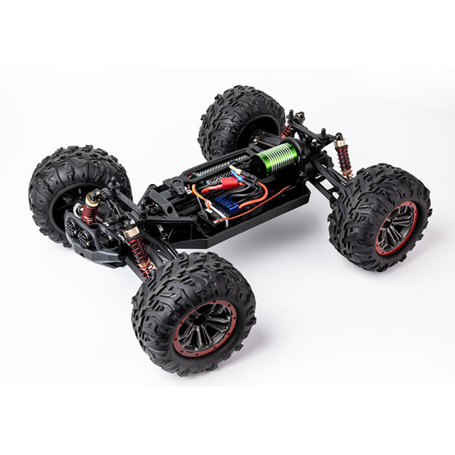 1/10 2.4G 4WD Brushless RC Car Remote Control Car Toy High Speed 60km/h Vehicle Models Toys Electric Off-road Racing Car 4