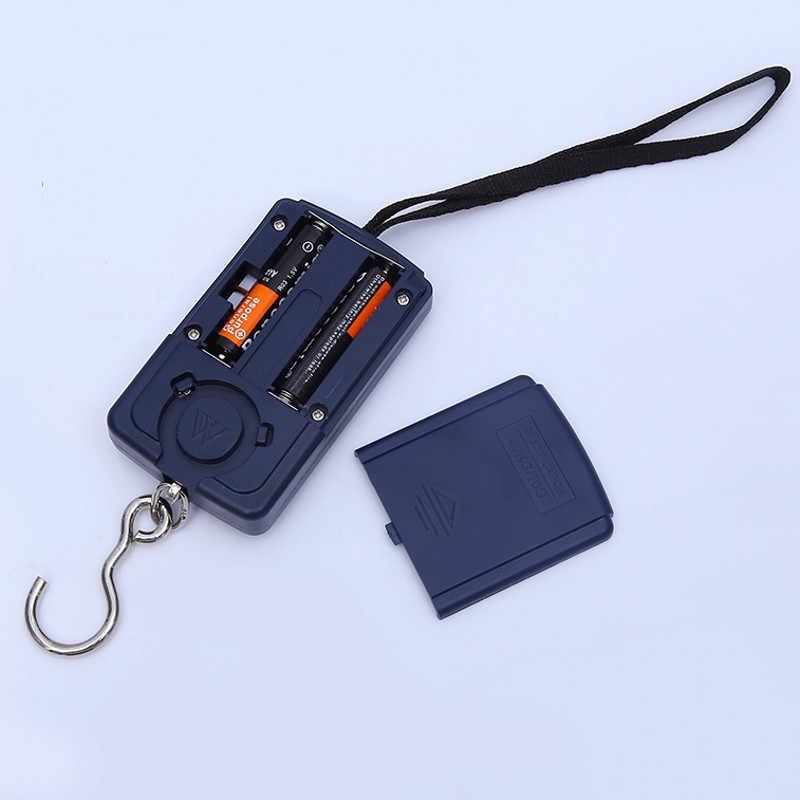 40 كجم X 10 جرام جيب صغير مقياس رقمي الصيد الأمتعة السفر وزنها جييت الموازين معلقة الإلكترونية المحمولة وزنها أدوات