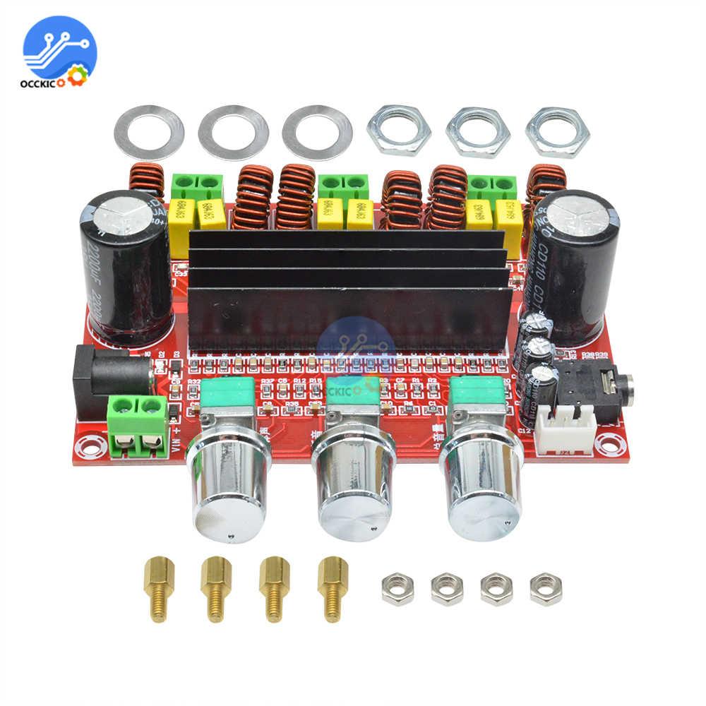 Image 5 - TPA3116D2 Плата усилителя двухканальный стерео высокой мощности цифровой аудио усилитель мощности плата 2X50W + 100W динамик звуковой модульboard boardboard digitalboard amplifier  АлиЭкспресс