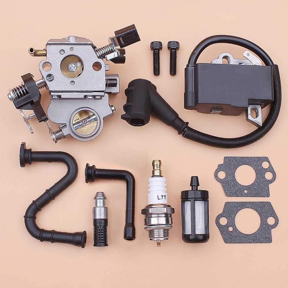 Carburetor Ignition Coil For Stihl MS362 MS 362 Fuel Oil Filter Line Carb Gasket Chainsaw 1140 120 0600, 1140 400 1302
