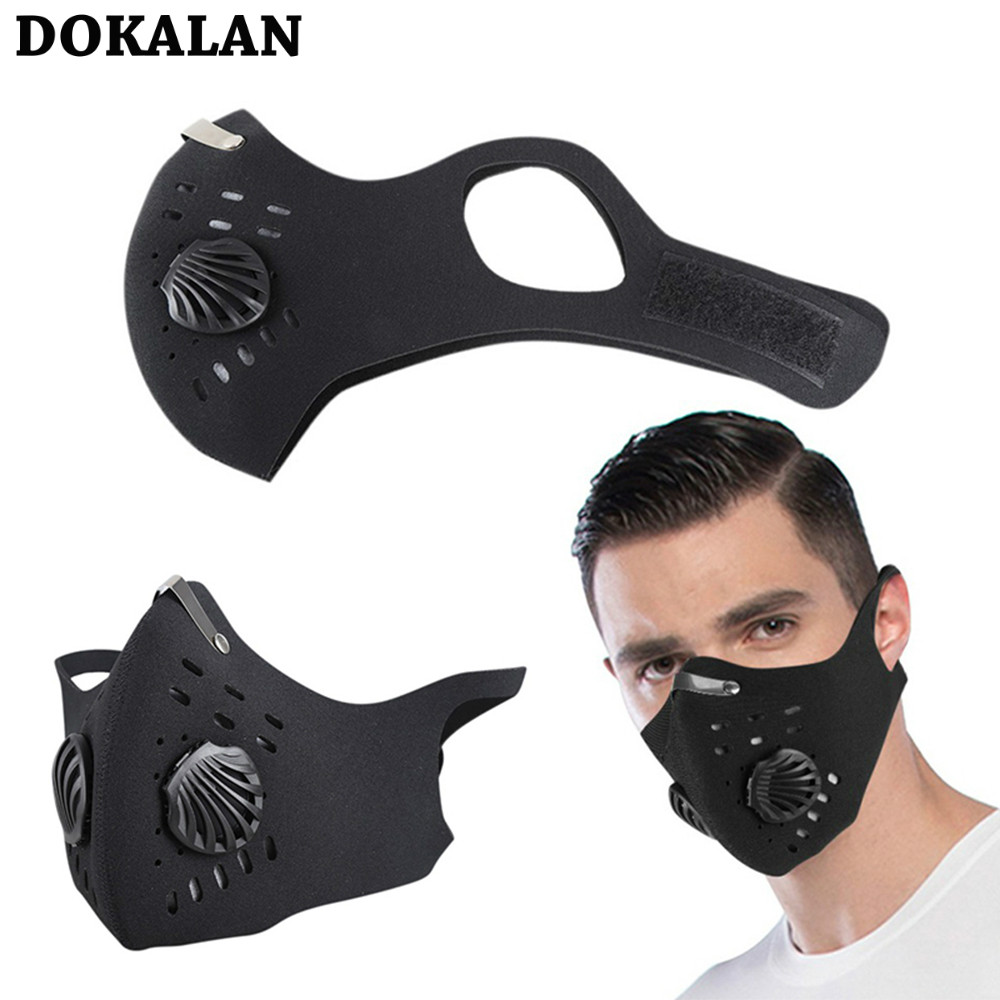 2020 Mask Mouth Face Masks Dust Breath Valve Mascarillas Sport Cycling Mask Filter Arespirator Dust Маска Mascherine Masque