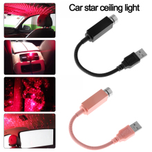 Декоративный светильник на крышу автомобиля, домашний потолочный романтический ночник, Рождественская атмосферная лампа, автомобильный интерьерный USB СВЕТОДИОДНЫЙ светильник