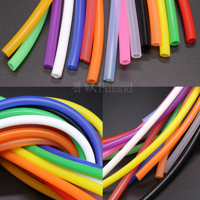 3x5 Silicone Tube ID 3mm OD 5mm 1 Meter Flexible Rubber Hose Thickness 1mm Food Grade Soft Drink Pipe Water Connector Colorful