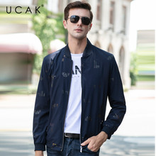 UCAK Brand Casual Chaquetas Hombre Zipper Mens Jackets and coats 2020 Spring New Arrival Streetwear Men Clothing Jackets U8062