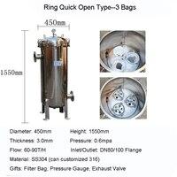 Comparar https://ae01.alicdn.com/kf/H473f7b64cc6c4e91bca1b7a5278b36a3O/SS304 Filtro de tipo bolsa Industrial Filtro de gran flujo anillo de gran Precion de apertura.jpg