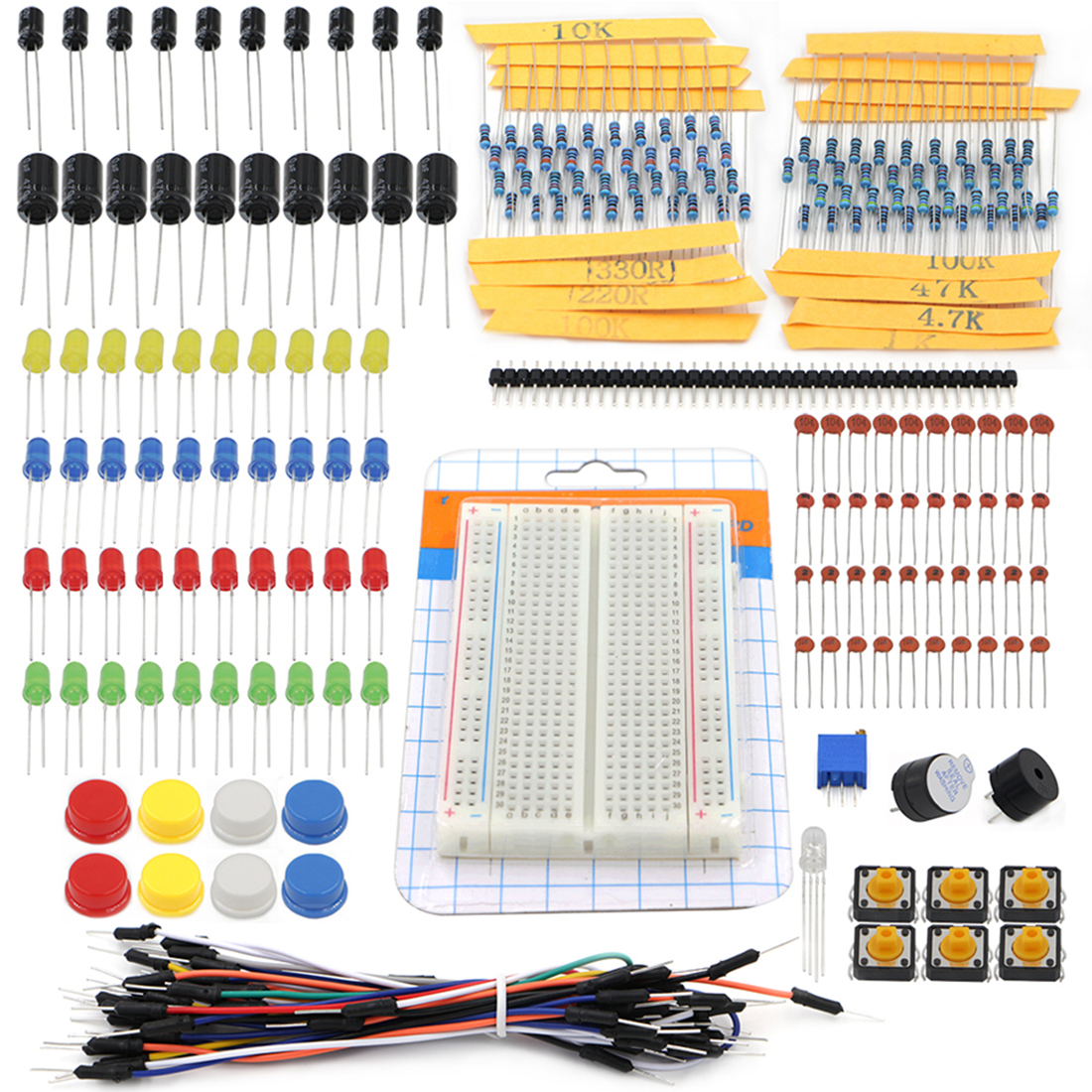 Electronics Fans Package Element Parts Kit Electronic Components Set For Arduino