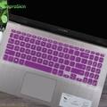 Silikon Tastatur Abdeckung Haut Für ASUS VivoBook x509j x509jb X509FB X509FJ X509f X509FA X509FL X509UA X509 15,6 zoll