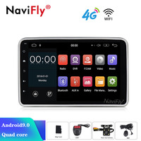 Android 9.0 2G RAM 32G ROM 1Din 2did Universal 8'' Screen Car DVD Player GPS Navigation Car Stereo WIFI Radio Audio Player FM