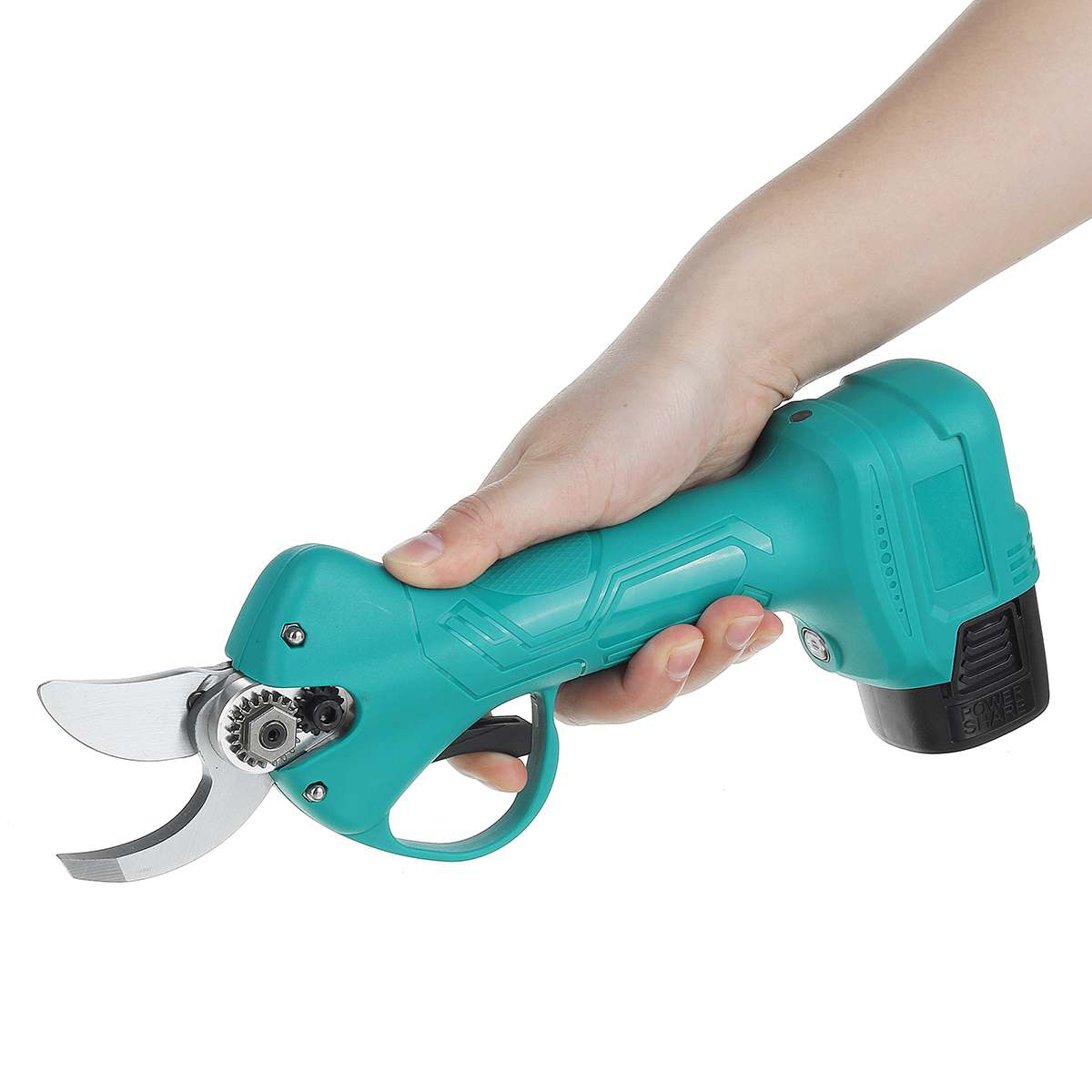 Tools : Electric Pruning Shears Garden Trimmer Lithium Battery Powered Hedge Cutter Electric Scissors Rechargeable Handheld Pruner Tools