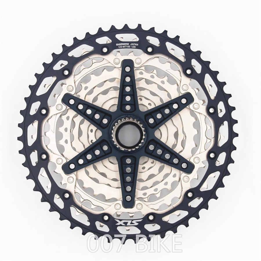 SHIMANO DEORE SLX M7100 Groupset 32T 34T 36T 170 175mm korba górska grupa rowerowa 1x12-prędkość 10-51T M7100 przerzutka tylna