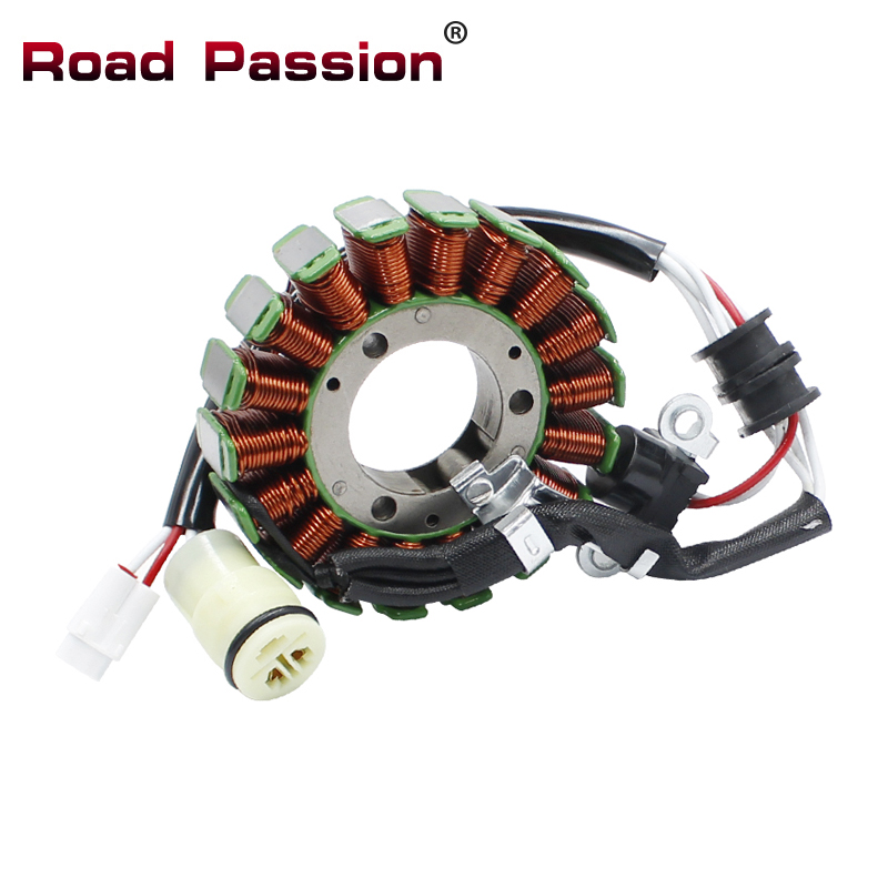 Road Passion Motorcycle Parts Generator Stator Coil For YAMAHA YFZ450X 2010-2011 YFZ450R 2009-2018 YFZ 450 18P-81410-00-00