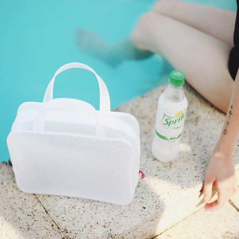 Nacai Muji минималистичный стиль путешествия мыть белый Водонепроницаемый многофункциональный сумка для хранения/сумка для плавания/Дрифт