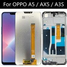 """6.2 """"สำหรับOPPO A5 PBAM00 / A3S CPH1803จอแสดงผลLCD Touch Screen Digitizer Assembly Replacement Parts"""