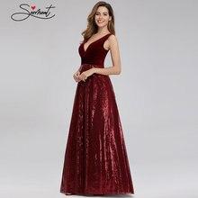 Женское вечернее бархатное платье годе элегантное с v образным