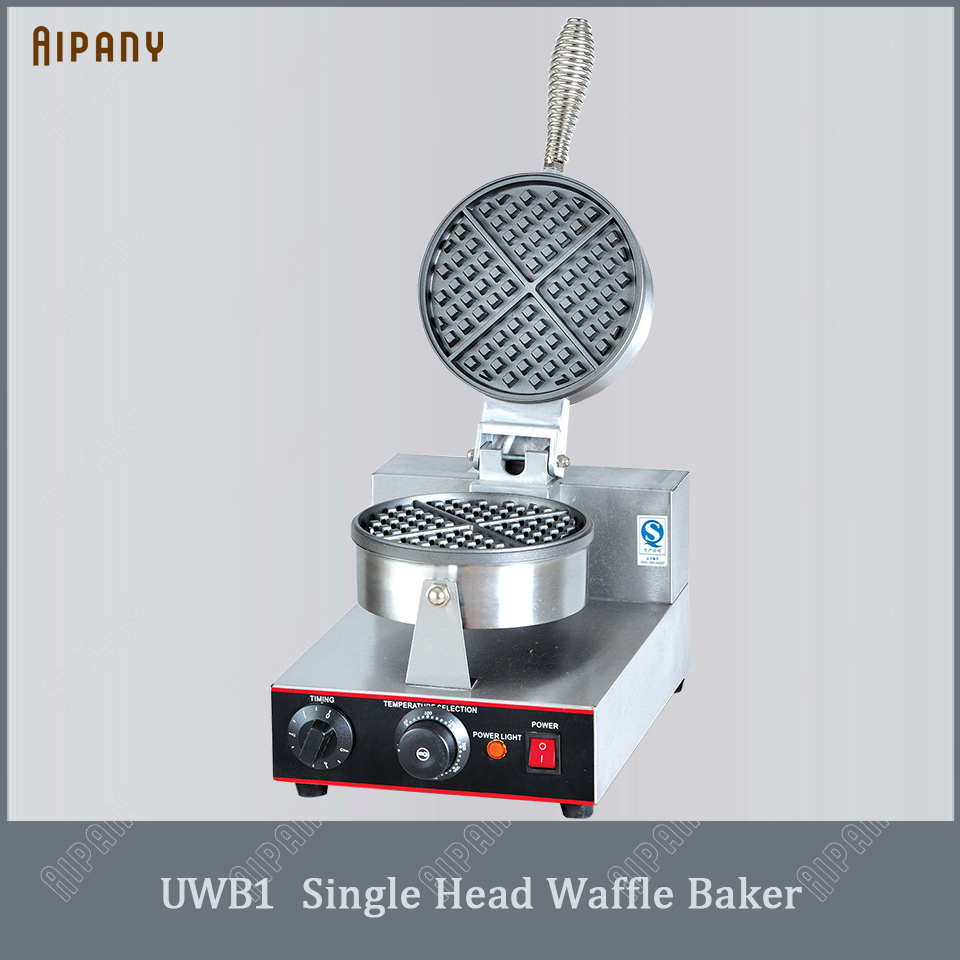 UWB1/UWB2 electric waffle baker nonstick commercial stainless steel bubble egg maker iron plate machine