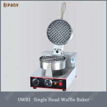 цена на UWB1/UWB2 electric waffle baker nonstick commercial stainless steel bubble egg waffle maker iron plate machine