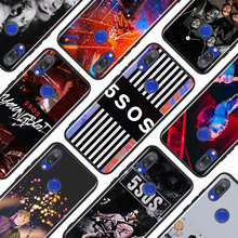 Black Silicone Cover 5 Seconds Of Summer for Xiaomi Redmi Note 8 7 6 5 4X 4 K20 Pro 7A 6A 6 S2 5A Plus Phone Case black silicone cover classical old cassette tape for xiaomi redmi note 8 7 6 5 4x 4 k20 pro 7a 6a 6 s2 5a plus phone case
