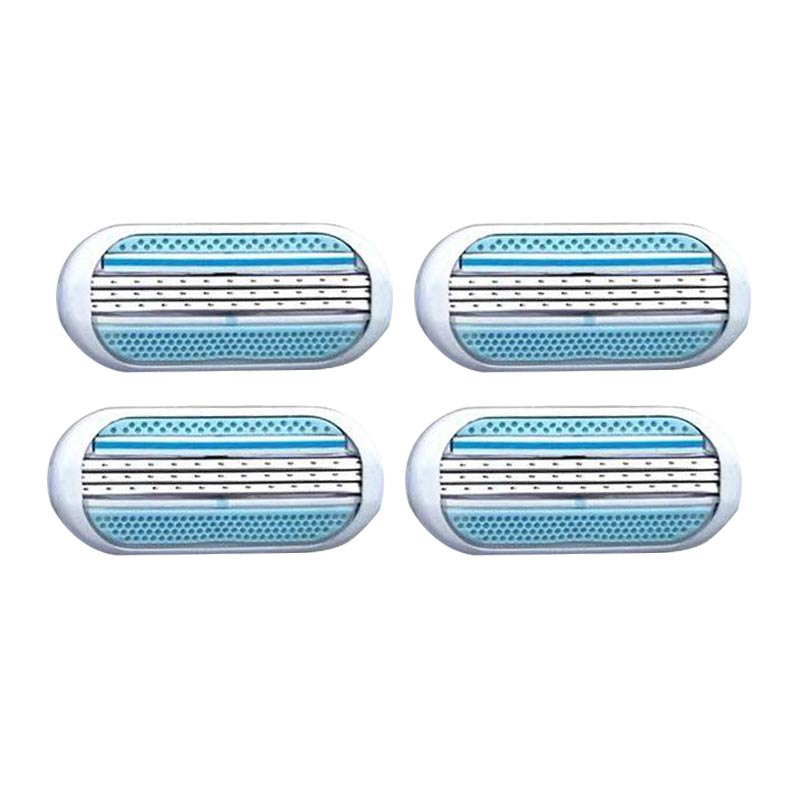 4pcs/lot Female Safety Razor Blade Shaving For Women Blade Shaver Razor Blades Replacement Head For Venuse Epilator Hair Removal