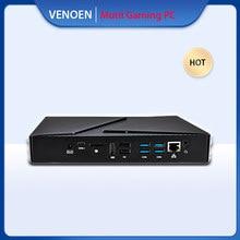 VENOEN Mini PC de juegos i9 8950HK i7 9750H i5 9300H Windows10 Linux 2 * ddr4 nvme GTX1650 4G HDMI DP computadora de escritorio WiFi BT4.0 4k