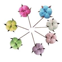 10Pcs Beautiful Artificial Cotton Fake Flower Home Party Wedding Decoration