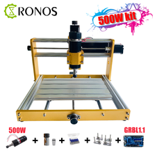 Cnc 3018 Update 3018Plus Metalen Frame Breng Nema17/23 Stepper 52Mm Spindel Cnc Hout Router, pcb Freesmachine, Craved Op Metalen