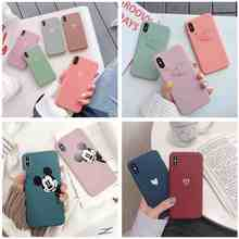 Cute Dumbo Mobile Phone Case For iphone X XR XS MAX 6 6S 7 8 Plus Cartoon Love Heart Candy Silicon Soft TPU Girly Cover Capas(China)