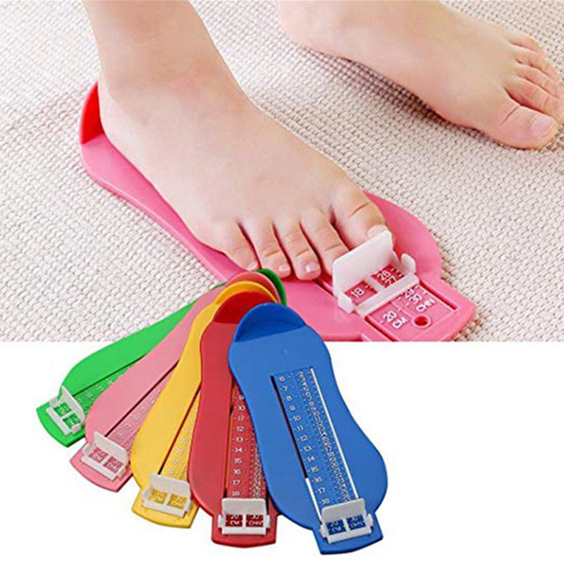 New Infant Foot Measuring Ruler Tool Baby Kids Toddler Shoes Fittings Gauge Foot Measure Tools