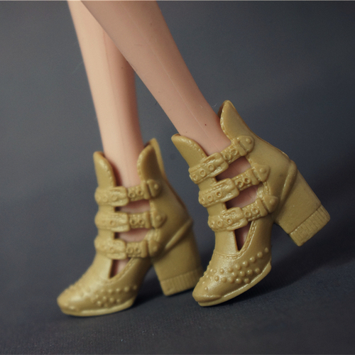 Doll Shoes Mix style High Heels Sandals Boots Colorful Assorted Shoes Accessories For Barbie Doll Baby Xmas DIY Toy 13